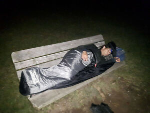 Youth Professional Working Two Jobs, Sleeping Outside