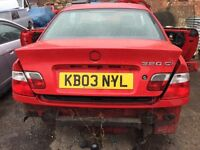 BMW E46 coupe rear lights