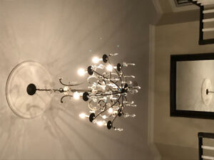 Used Chandelier and lighting in excellent condition