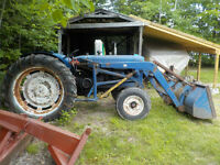 1958 Fordson Major Tractor
