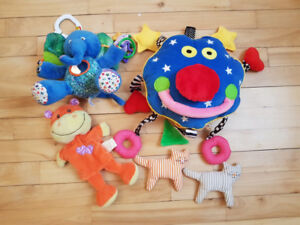 5 Baby toys/jouets pour bebe