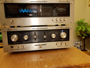Vintage Marantz Amp & Tuner