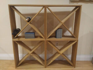 Wood shelves, book rack, or display rack