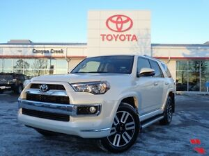 2014 Toyota 4Runner Limited V6 Full-Time 4WD w/Navigation One Ow
