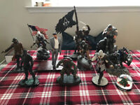 10 Xbox/PlayStation Gaming Statues - Great Condition