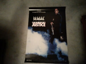 Movie Poster - Out for Justice (Steven Seagal)
