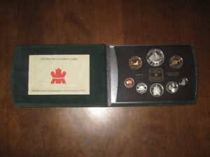 2003 Canadian Silver Proof Coin Set