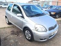 2005/55 Toyota Yaris 1.0 VVT-i Colour Collection FULL MOT EXCELLENT RUNNER