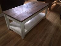 Rustic Parsons Coffee table>>>>>> SOLD<<<<