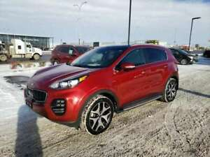 2017 Kia Sportage SX Turbo AWD Sunroof Leather