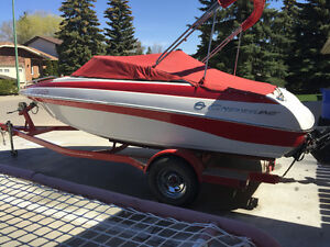 Crownline boat and trailer