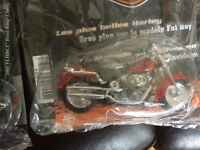Moto Harley Davidson miniature collection