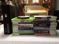 XBOX 360 With Kinect and controller plus 30+ High Caliber Games.