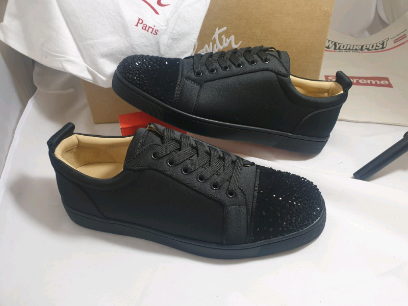 new product 65184 f13b3 christian louboutin low top sneakers trainers | in West Midlands | Gumtree