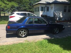 1989 Ford Mustang coupe 5l 5 speed mint floors and torque boxes