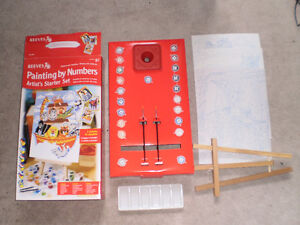 Reeves Painting by Numbers Artist Starter Set, NEW