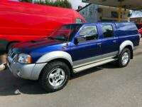 Nissan Navara 2.5 DI 4X4 CREW CAB PICKUP D22 WOW JUST 14,000 MILES YES 14,000!