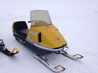 Wanted 1971 skidoo Nordic 399 parts