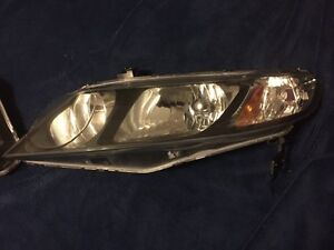 Stock 2010 Honda Civic SEDAN Headlights and Outer Tail lights St. John's Newfoundland image 3