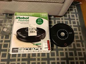 iRobot Roomba 595 Pet Vacuum Cleaning Robot, Black