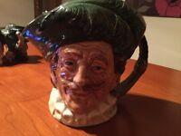 Royal Doulton Toby Character Mug Jug 'The Cavalier'
