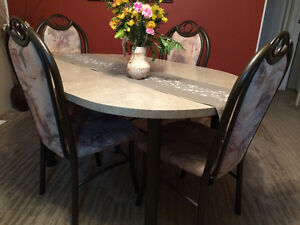 Dining table & chairs North Shore Greater Vancouver Area image 1