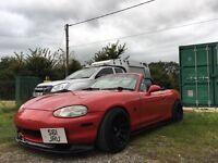 Mazda mx5 UK spec 1.8