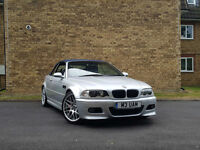 2001 BMW M3 3.2i 2001MY M3,SILVER,HARDTOP,63,000 MILES,MANUAL
