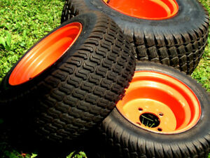 Complete Set of Wheels for Kubota BX Tractor
