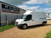 2014 Ford Transit 2.2 T350 RWD LWB HIGH TOP VAN HIGH ROOF AIR CON IDEAL CAMPER P