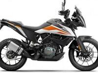 KTM 390 Adventure 21MY. Lightweight travel adventure bike A2 licence friendly