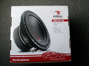 """NEW FOCAL 10"""" SUBWOOFER DUAL VOICECOIL 4 Ohms 500 watts"""