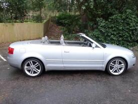 2003 / 52 AUDI A4 CABRIOLET 2.5TDI DIESEL SPORT MANUAL £2243