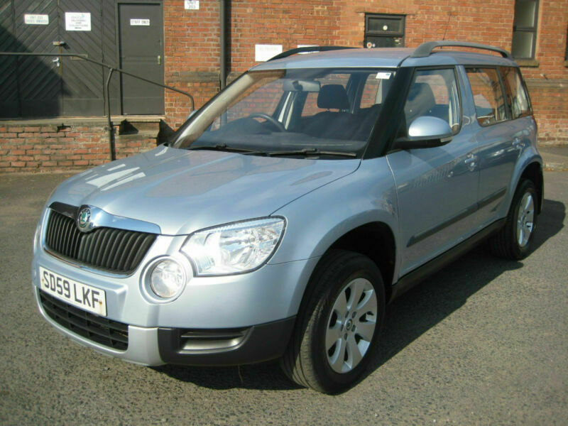 2009/59 Skoda Yeti 2 0TDI CR ( 110ps ) S in Met Blue