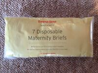 Disposable maternity briefs UK 10-12
