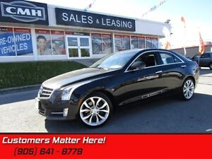 2014 Cadillac ATS 3.6 Premium   BOSE! MOONROOF! HEATED WHEEL!