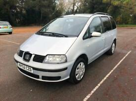 2003 Seat Alhambra 1.9TDi COMPLETE WITH M.O.T