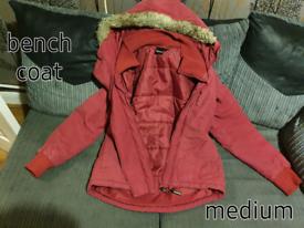 Womans bench coat