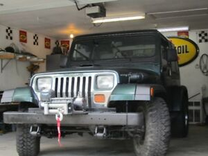 1995 YJ JEEP    PRICE REDUCE 9,000  MUST SELL  SAFETED 9/18/2018