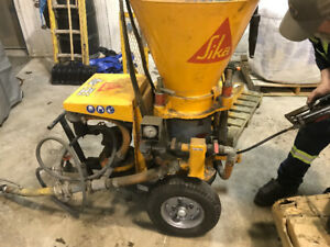 Aliva 246.5 shot Crete machine for sale