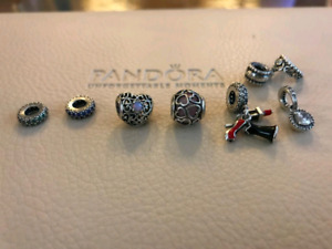 Authentic Pandora charms spacers dangle