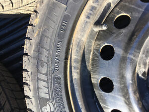 Barely Used Michelin X-Ice 4 Tires+Rims