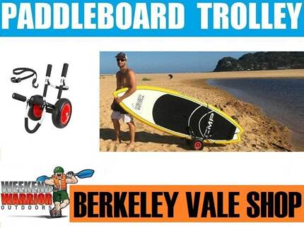 Stand Up Paddleboard Trolley Surfboard SUP Paddle board Trolley