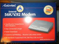 External 56K Modem