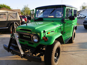 1972 Toyota Land Cruiser SUV, Crossover