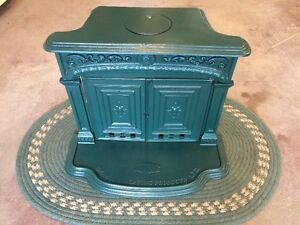 Antique Home Franklin Wood Stove