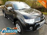 Late 2010 '60 Mitsubishi L200 Warrior 4x4 DC pick up, 43000 miles...