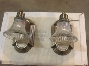 Glass Light Fixture for Trailer Interior (2 only)
