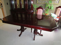 Cherry dining room suite