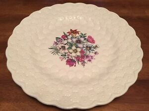 Spode China Canadian Provincial Flowers Plate